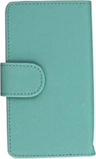 MPERO FLEX FLIP Wallet Case for LG Optimus F7 US780 - Mint / White