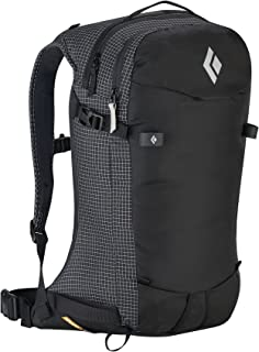 Black Diamond Dawn Patrol 25 Backpack and HDO Lite E-tip Gloves with Grippers
