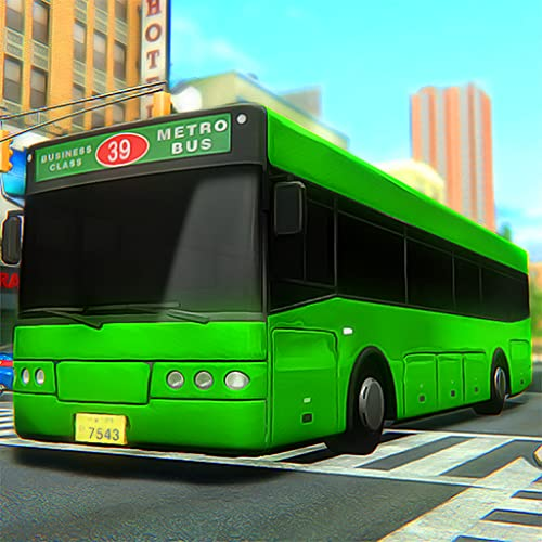 City Modern Bus Driving Game 3D: Crazy Bus Driver Simulator