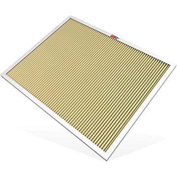 K&N 20x25x1 HVAC Furnace Air Filter; Lasts a Lifetime; Washable; Merv 11; Filters Allergies, Pollen, Smoke, Dust, Pet Dander, Mold, Smog, and More; Breathe Cleanly at Home, HVC-12025