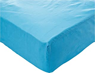 IBed Home Fitted Sheet 3 Pieces Set 144 Thread Count, Cotton, King, Blue, H21.4 x W29.4 x D5 cm