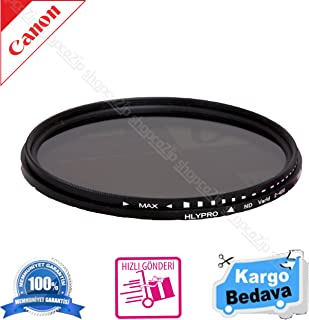Canon 85mm Lens İçin 58mm ND Filtre 2-4 Stop