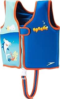 Speedo Begin to Swim Printed Neoprene Swim Vest, Electric Blue, Medium