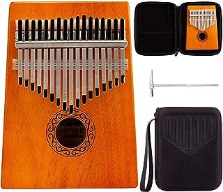 Kalimba,Thumb Piano,Portable Thumb Piano for 17 keys,Mahogany karinba,Mbira Finger Piano for Student adult beginner professional musical instrument