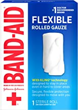 Johnson & Johnson Red Cross First Aid Rolled Gauze 2