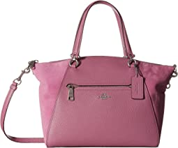 COACH Prairie Satchel in Mixed Leather