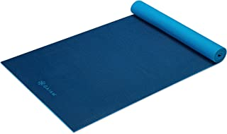 Gaiam Yoga Mat - Solid Color Exercise & Fitness Mat for All Types of Yoga, Pilates & Floor Workouts (68
