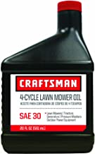 Craftsman 64297 SAE 30 Lawnmower Oil, 20-Ounce, 1