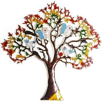 Angelic Copper Aluminium Tree Large (42 cm x 1 cm x 42 cm)