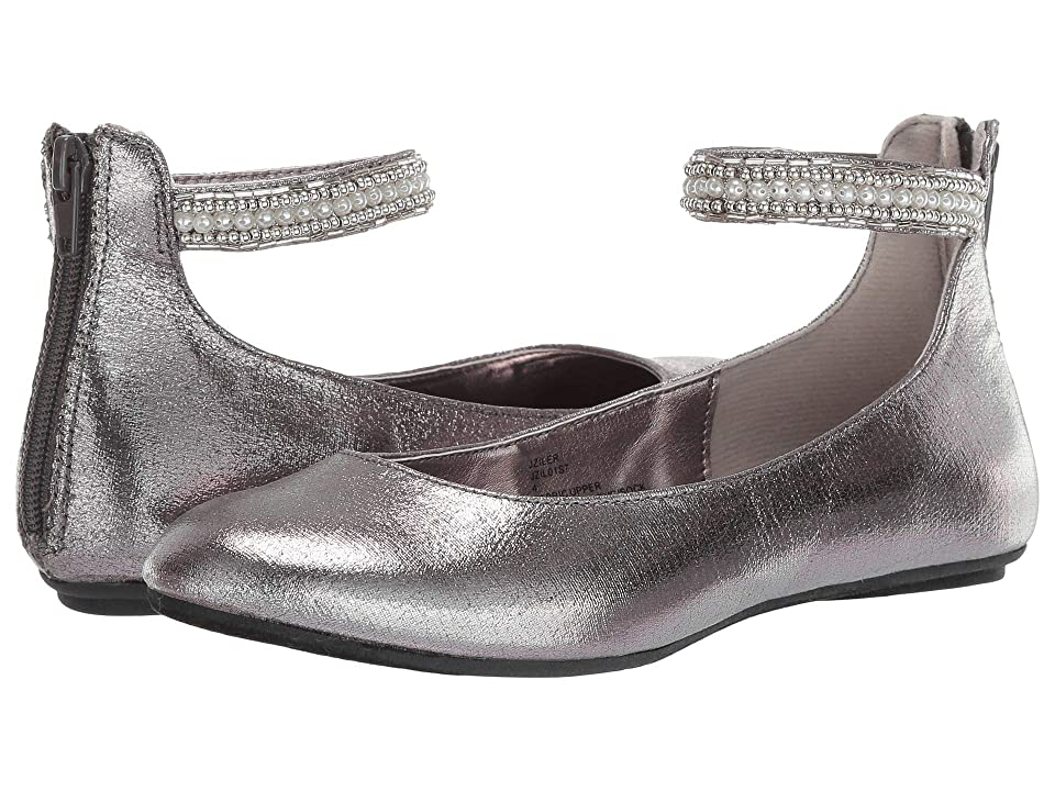 Steve Madden Kids Ziler (Toddler/Little Kid/Big Kid) (Pewter) Girls Shoes