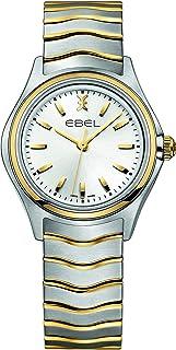 EBEL Ladies 1216195 Wave 18K Gold & Steel Swiss Quartz Watch