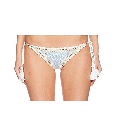 Jonathan Simkhai Crochet Side Tie Bikini Bottoms