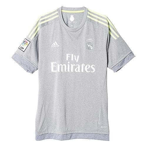559366574 adidas Real Madrid CF Away Jersey-Grey