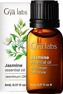 Gya Labs Jasmine Eterisk Olja för Parfym och Avslappning - Jasminolja för romantiska stämningar och god sömn - 100 ren ter...