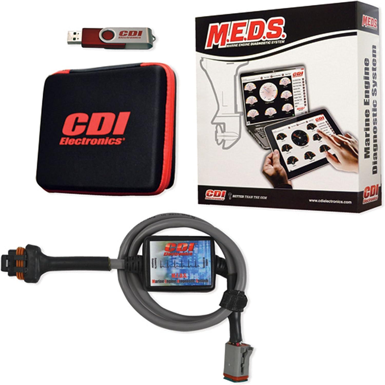 amazon.com: cdi electronics 531-0119h marine engine diagnostic system  (m.e.d.s. upgrade/add-on - honda/tohatsu): automotive  amazon