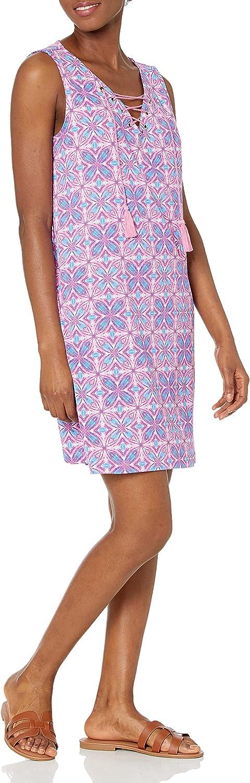 Caribbean Joe Women's Lace Up Casual Dress