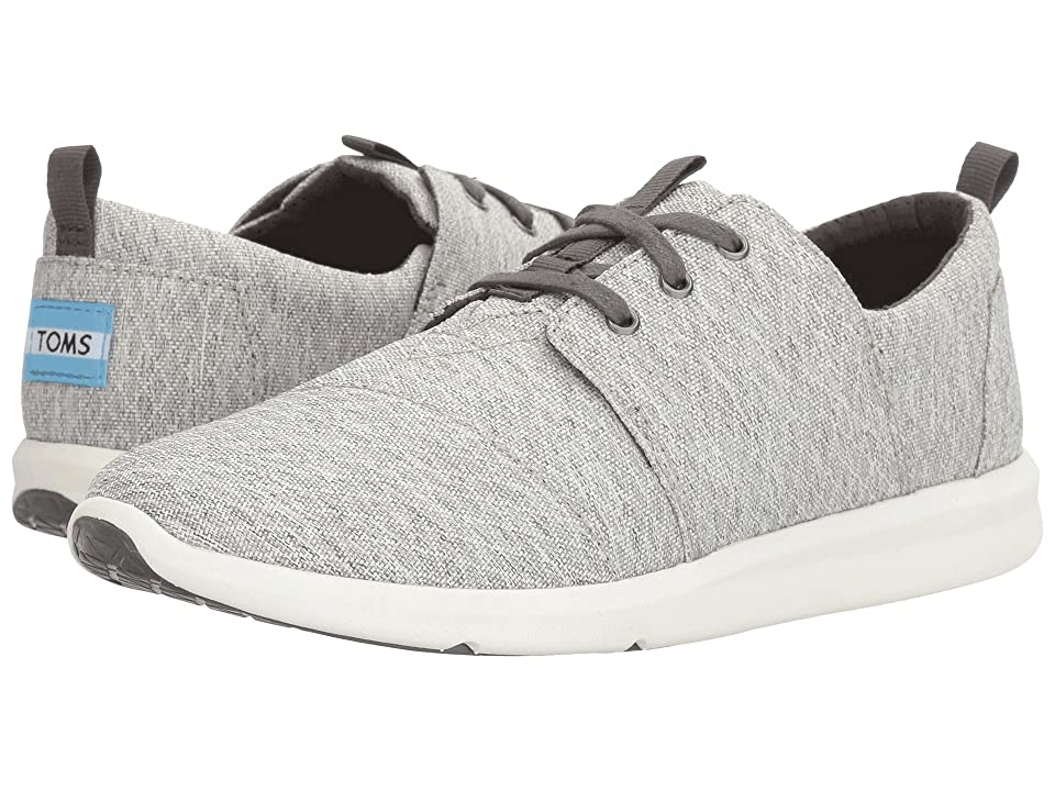 TOMS Del Rey Sneaker (Grey Diamond Melange) Women