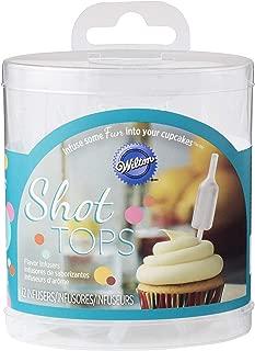 Wilton Bottle-Shaped Shot Tops Flavor Infusers