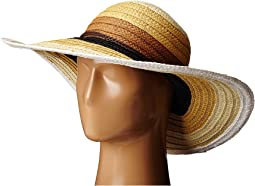 PBL3071 Striped Sun Brim Hat