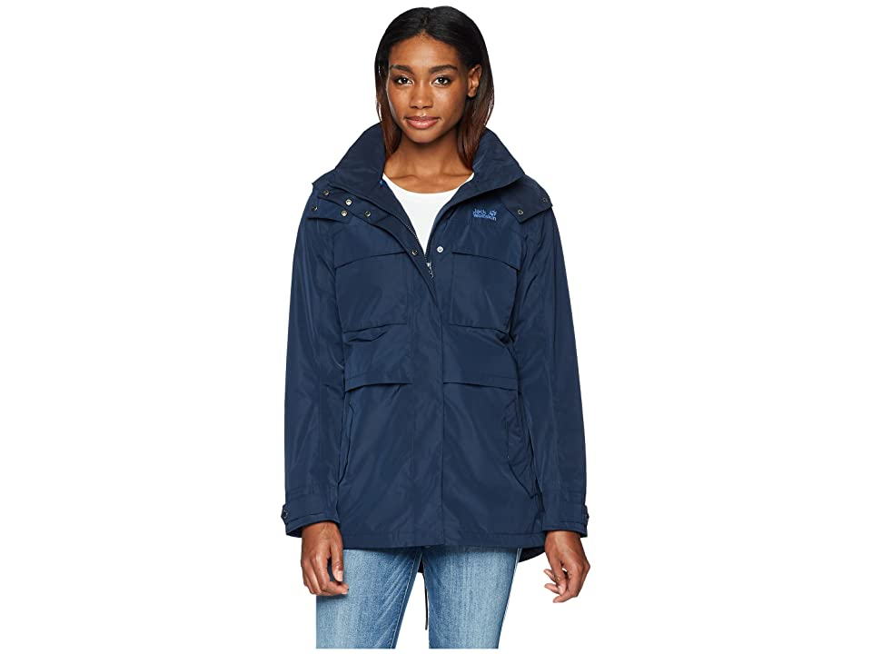 Jack Wolfskin Rosamond Parka (Midnight Blue) Women