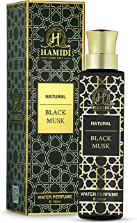 Hamidi Non Alcoholic Natural Black Musk Water Perfumes for Unisex 100ML - Signatures Collections - perfume for men - perfu...