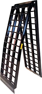 Titan 10' 4-Beam Truck Loading Ramp for Motorcycles and Recreational Vehicles