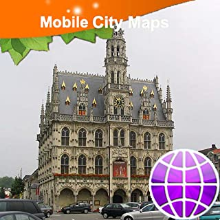 Lille Kortrijk Oudenaarde Street Map