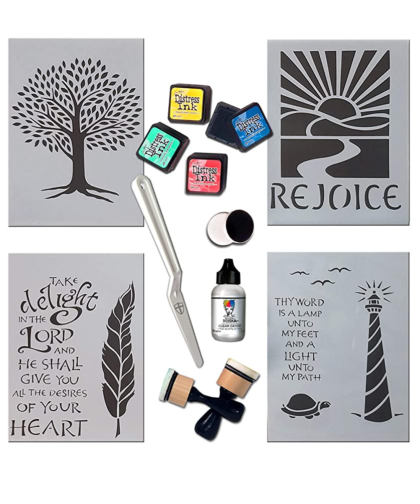 G.T. Luscombe Company, Inc.Inspired Stencils Bible Journaling Kit