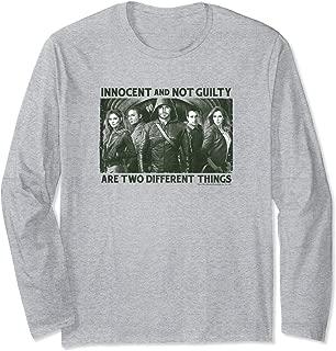 Arrow TV Series Not Guilty Long Sleeve T-Shirt