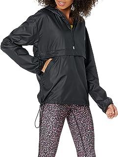 Amazon Essentials Women's Water-Resistant Pullover Packable Windbreaker