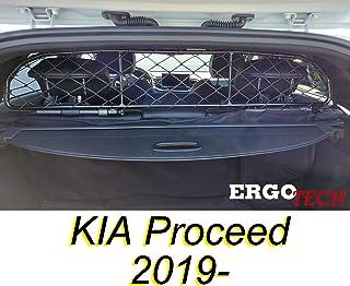 ERGOTECH Trennnetz Trenngitter für Kia Proceed RDA65 HXXS8, für Hunde und Gepäck. Sicher, komfortabel für Ihren Hund, garantiert!