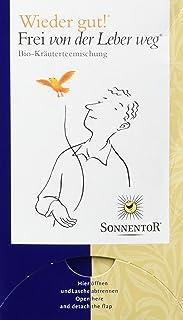 Sonnentor Tee Frei von der Leber weg - Wieder gut! Doppelkammerbeutel, 2er Pack 2 x 27 g - Bio