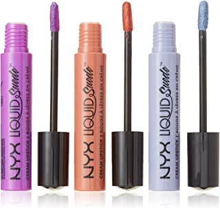 NYX Liquid Suede Cream Lipstick Gift Set 05 - 3x4ml Run The World + Initiator + Indus Paradise
