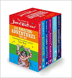 The World of David Walliams: The Amazing Adventures Box Set: Gangsta Granny; Ratburger; Demon Dentist; Awful Auntie; Grand...