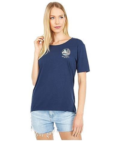 Burton Ashmore Short Sleeve Scoop T-Shirt (Dress Blue) Women