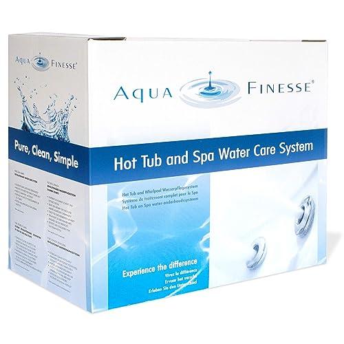 Aquafinesse Kit d'entretien complet pour spa et jacuzzi sans danger pour l'environnement
