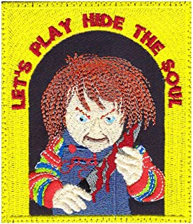 Chucky Childs Play Horror Movie Inspired Art Patch