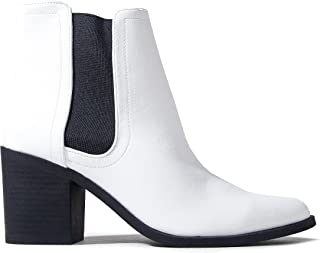 Best black and white booties Reviews
