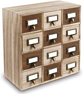 Best wooden index card cabinet Reviews
