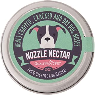 Nozzle Nectar | Dog Nose Balm Relieves and Repairs Your Dog's Dry Cracked and Crusty Nose with 100% Organic and Natural Ingredients |2 OZ| Made in The USA..