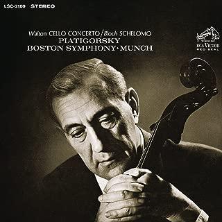 Walton: Cello Concerto - Bloch: Schelomo