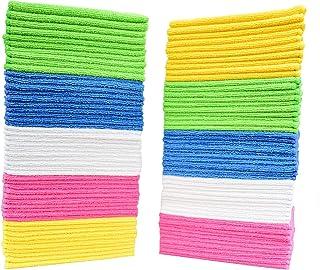 Simpli-Magic 79375 Microfiber Cleaning Cloths, PREMIUM, Variety, 50 Pack