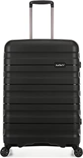Antler Juno 2 4W Medium Roller Suitcase Hardside, Black, 68cm