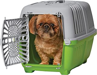 """MidWest Spree Travel Pet Carrier   Hard-Sided Pet Kennel Ideal for""""XS"""" Dog Breeds, Small Cats & Small Animals   Dog Carrie..."""