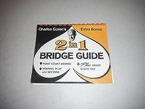 CHARLES GOREN'S EXTRA BONUS 2 IN 1 BRIDGE GUIDE