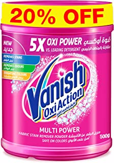 Vanish Stain Remover Oxi Action Powder for Colors & Whites, 500g