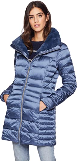094e50a7e150 Save the Duck. Bark Long Rain Jacket.  278.00. Space Blue