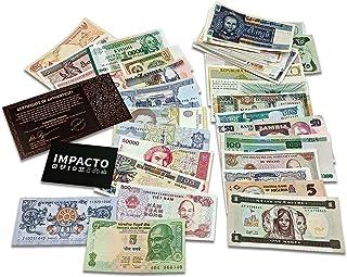الأوراق النقدية العالمية - 100 ورقة نقدية مختلفة أجنبية، عملة، غير متداول، تاريخ نادر