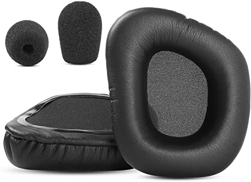 discount Upgraded sale Thicken Ear Pads popular Cushions Compatible with Corsair Void RGB Elite & Void PRO Headset Headphone Replacement Soft Memory Foam Protein Leather sale