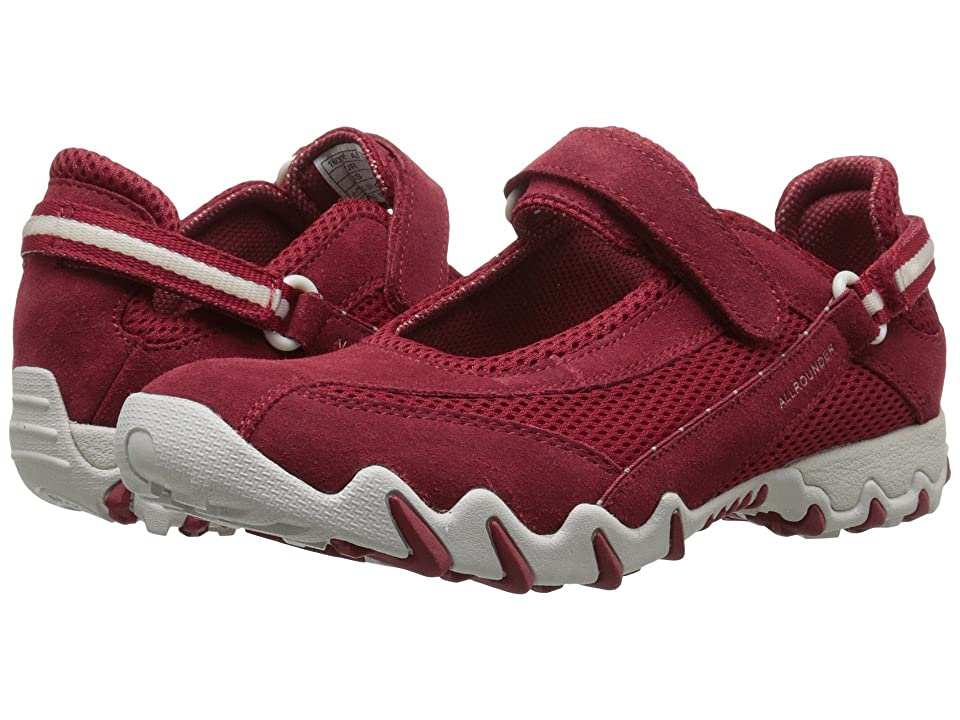 Allrounder by Mephisto Niro (Red Suede/S Mesh) Women